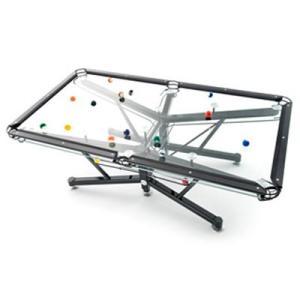 G-1 Glass Top Billiard Table