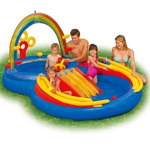 Intex Rainbow Ring Pool Play Center