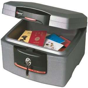 Sentry Waterproof Fire Chest Safe Deposit Box