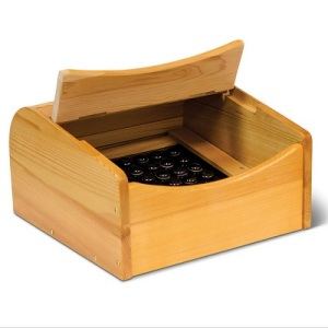 Foot Sauna that softens skin and releases tension