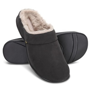 The-Ladys-Back-Pain-Relieving-Fur-Slippers